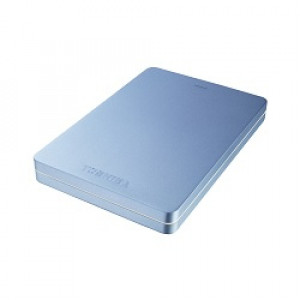 """Extern Hårddisk 2.5"""" Toshiba Canvio ALU Blue 2TB"""