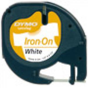 DYMO 12mm LetraTAG Iron-on etikett-tejp