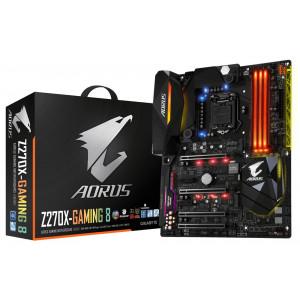 Moderkort Gigabyte GA-Z270X-Gaming 8 Intel H270 LGA 1151 (Socket H4) ATX moderkort