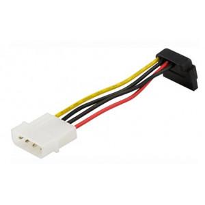 Kabel SATA-ström 4pin Molex - SATA (ha-ho) vinklad