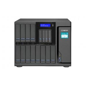 QNAP TS-1635 NAS Skrivbord Nätverksansluten (Ethernet) Svart