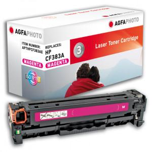 HP Toner 312A CF383A 2700 sidor Magenta