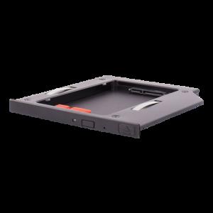 HDD-kabinett i DVD-plats i bärbar dator 9.5mm
