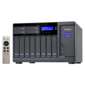 QNAP TVS-1282 NAS Torn Nätverksansluten (Ethernet) Svart