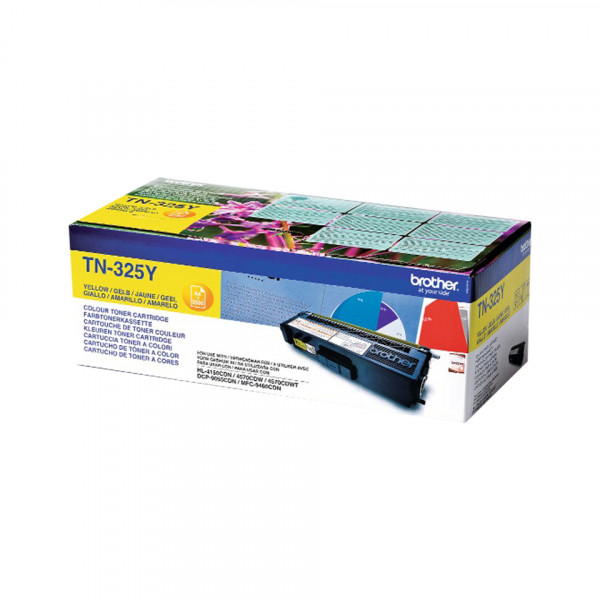 Brother Toner TN-325Y 3500sid Yellow (Original)