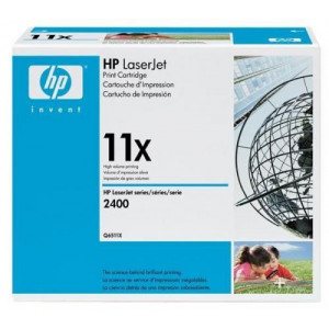 HP Toner 11X Q6511XD Black Original 2-pack