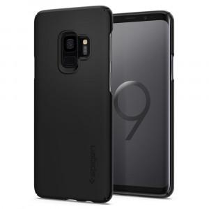 Skal Spigen Galaxy S9 Case Thin Fit Black