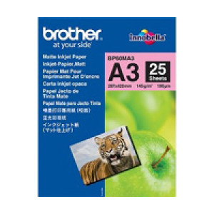 Brother BP60MA3 Inkjet Paper A3 (297×420 mm) matt Vit datapapper
