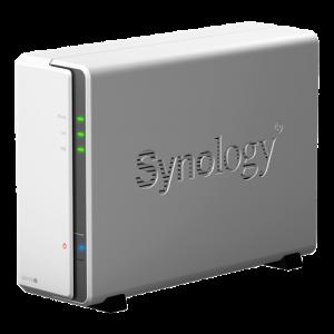NAS - Synology DS119J 1st Hårddiskplats DS119J