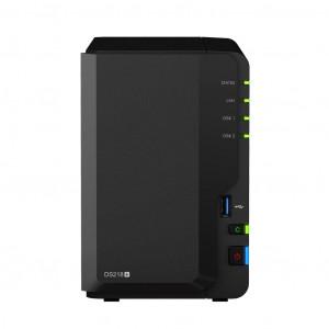 NAS Server - Synology DS218+ 2st Hårddiskplatser