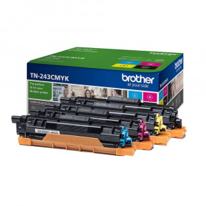 Brother Toner TN243CMYK Valuepack BK/C/M/Y Original