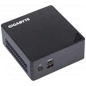 Gigabyte GB-BKi3HA-7100 (rev. 1.0) BGA 1356 2.40GHz i3-7100U 0.6L sized PC Svart