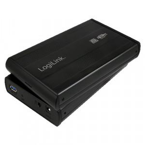 """Externt kabinett 3.5"""" SATA USB 3.0 - Logilink."""