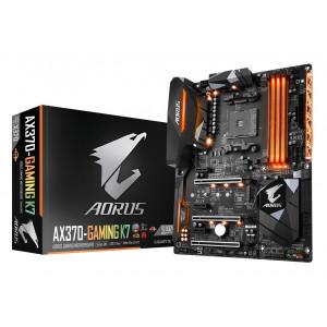 Moderkort Gigabyte GA-AX370-GAMING-K7 AMD X370 Socket AM4 ATX moderkort