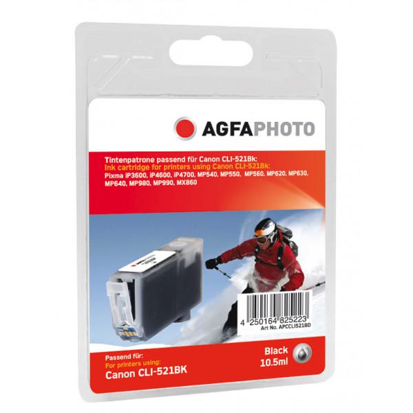 AgfaPhoto APCCLI521BD Svart bläckpatroner