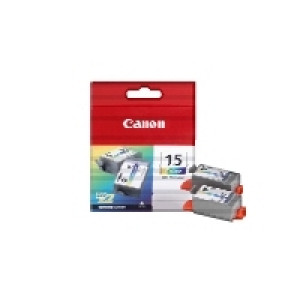 Canon BCI-15C Color (Original) 2-pack