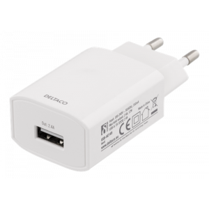 2,4 AC Charger White Bag