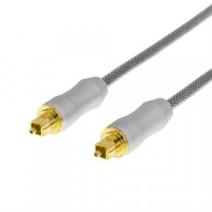 Audiokabel Toslink-Toslink  (1m) Prime GOLD