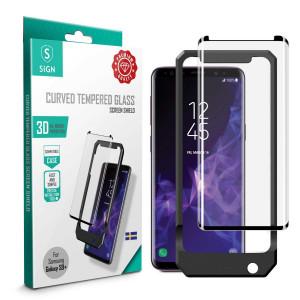 Skärmskydd - Samsung Galaxy S9+/S8+ Härdat 3D glas SNTP-S9P
