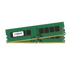 DDR4-2400 Crucial 16GB Kit (8GBx2) DDR4 16GB DDR4 2400MHz RAM-minnen