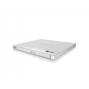 DVD-brännare - USB Extern Slim Vit LG GP60NW60AUAE12W