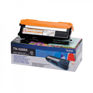 Brother Toner TN-328BK 6000sid Black (Original)