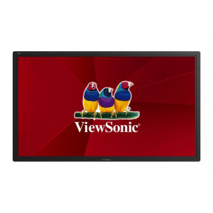 "Viewsonic CDE6502 Digital signage flat panel 65"" LCD Full HD Svart signage display"