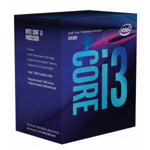 Intel Core ® ™ i3-8350K Processor (8M Cache, 4.00 GHz) 4GHz 8MB Smart Cache Låda processorer
