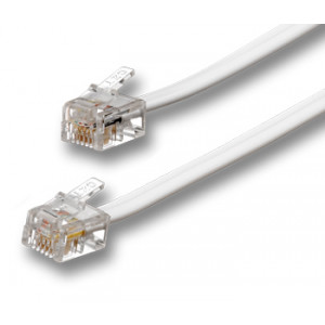 Modularkabel RJ11/RJ10/RJ9 4-pin 4P4C telekabel 5m 5776OP