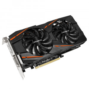 Gigabyte GV-RX570GAMING-4GD Radeon RX 570 4GB GDDR5 grafikkort