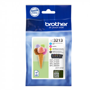 Brother LC3213VALDR Value pack Original