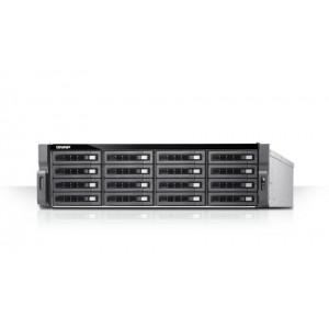 QNAP TDS-16489U NAS Rack (3U) Nätverksansluten (Ethernet) Svart, Grå