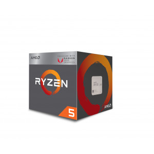 Processor - AMD AM4 Ryzen 5 2400G 3.9GHz BOX YD2400C5FBBOX