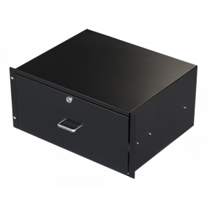 "19"" Drawer 5U black"