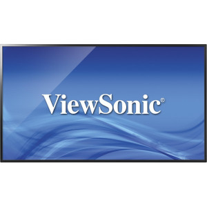 "Viewsonic CDE4302 Digital signage flat panel 43"" LED Full HD Svart signage display"