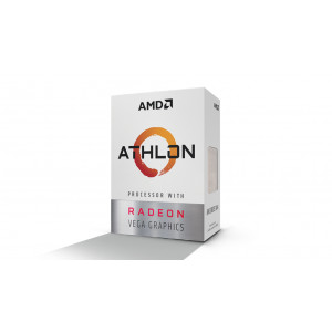 AMD Athlon 200GE processorer 3.2 GHz Låda 4 MB L3