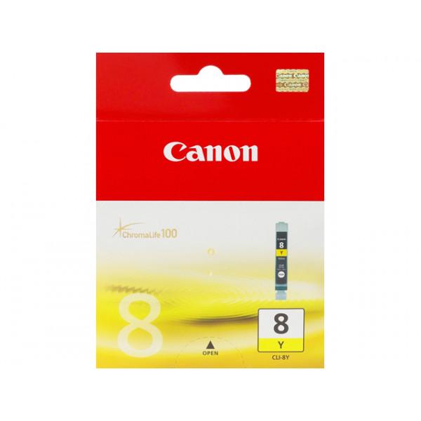 Canon Cartridge CLI-8 YLO Gul bläckpatroner