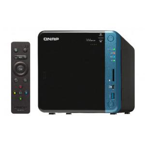 NAS QNAP TS-453B NAS Skrivbord Nätverksansluten (Ethernet) Svart