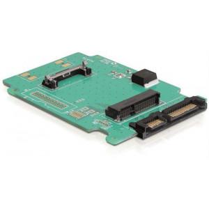 DeLOCK 61881 Intern mSATA nätverkskort/adapters