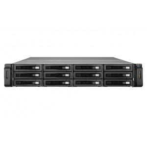 QNAP REXP-1220U-RP Rack (2U) Svart hårddiskar