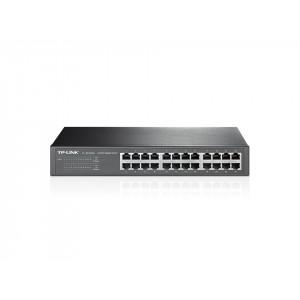 TP-LINK 24-Port Gigabit Desktop/Rackmount Switch Unmanaged network switch Gigabit Ethernet (10/100/1000) Grå