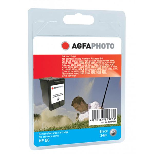 AgfaPhoto APHP56B Svart bläckpatroner