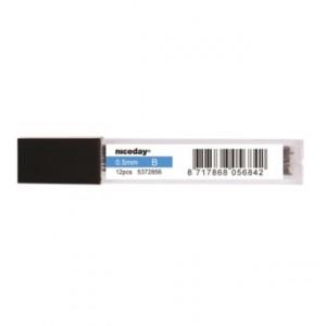 Stift till Stiftpenna 0.5mm 2B 12/tub