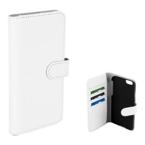 Champion Wallet Case Vit PU iPhone 6/6S