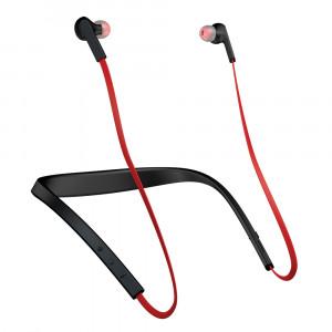 Bluetooth Headset Jabra Halo Smart Hals-band Binaural Trådlös Svart, Röd
