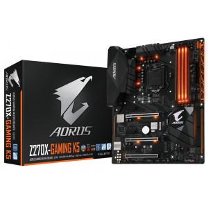 Moderkort Intel S1151 ATX - GA-Z270X-Gaming K5