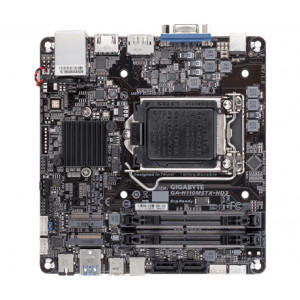 Gigabyte GA-H110MSTX-HD3 Intel® H110 Express Chipset LGA 1151 (Socket H4) Mini-STX moderkort