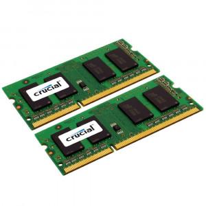 SODIMM DDR3-1333 Crucial 16GB (2x8GB) DDR3-1333 CL9 SO-DIMM 16GB DDR3 1333MHz RAM-minnen