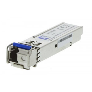 DELTACO SFP 100BASE-BX10-U, 1310TX/1550RX, 20km, Single-Mode