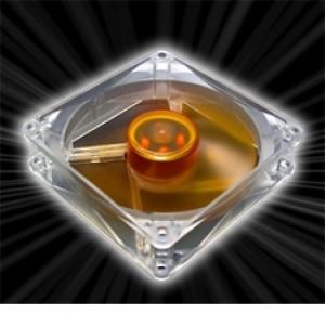 Fläkt Akasa  92mm Amber Series